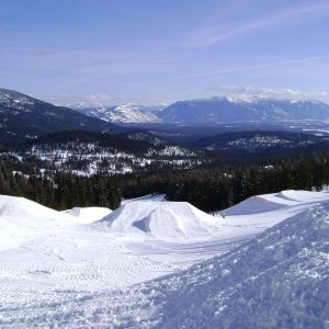Snow in Whitefish Montana